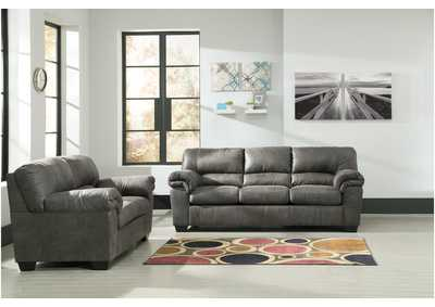Bladen Slate Sofa and Loveseat
