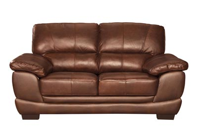 Fontenot Chocolate Loveseat