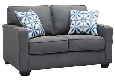 Image for Kiessel Nuvella Steel Loveseat