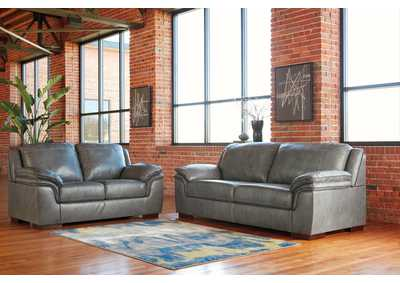 Islebrook Iron Sofa and Loveseat