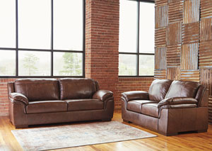 Islebrook Canyon Sofa and Loveseat