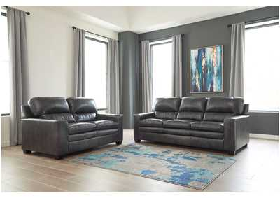 Gleason Charcoal Sofa & Loveseat