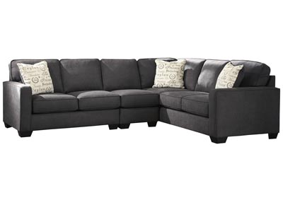 Alenya Charcoal RAF Extended Sectional