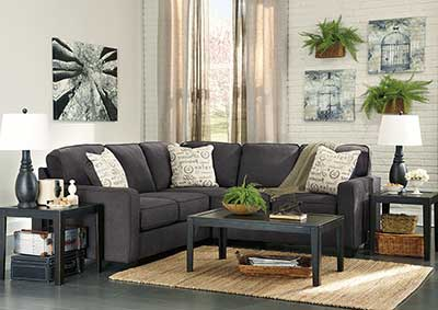 Alenya Charcoal RAF Sectional