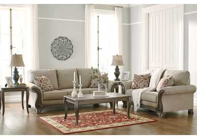 Claremorris Fog Sofa and Loveseat