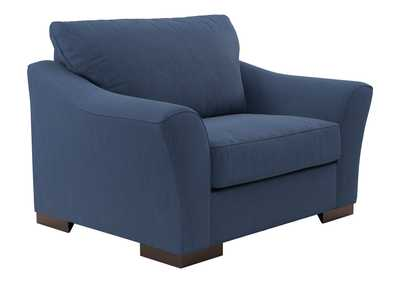 Image for Bantry Nuvella Indigo Chair and a Half