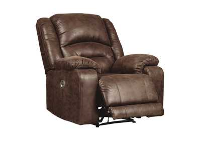 Carrarse Teak Power Recliner