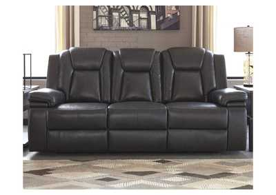 Image for Garristown Gray Power Reclining Sofa