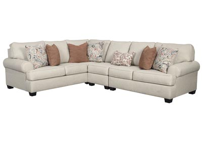 Image for Amici Linen Left-Arm Facing Sectional