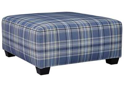 Image for Reevesville Silver Oversized Ottoman