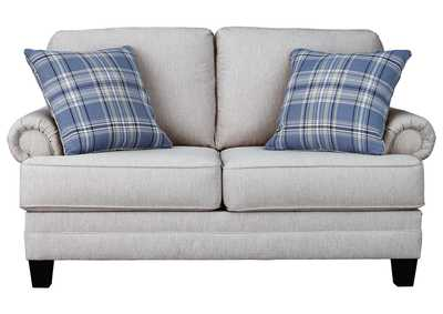 Image for Reevesville Silver Loveseat