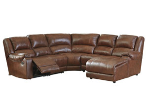 Billwedge Canyon Right Facing Reclining Corner Chaise Sectional
