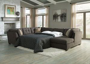 Oak Furniture Liquidators Delta City Steel Left Arm Facing Corner Chaise Sectional