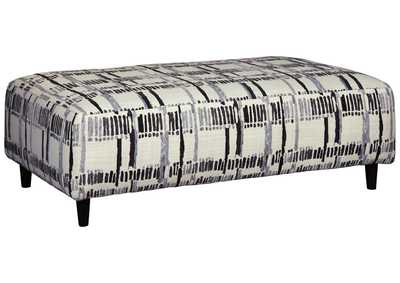 Kennewick Shadow Oversized Accent Ottoman