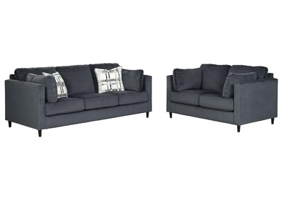 Image for Kennewick Shadow Sofa and Loveseat