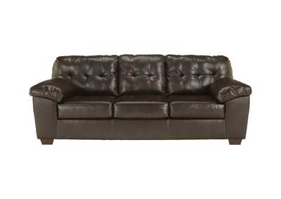 Image for Alliston DuraBlend Chocolate Queen Sofa Sleeper