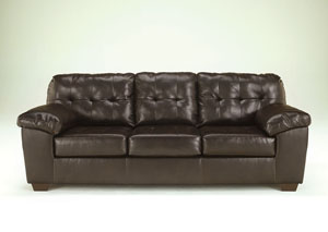 Alliston DuraBlend Chocolate Sofa,Signature Design By Ashley