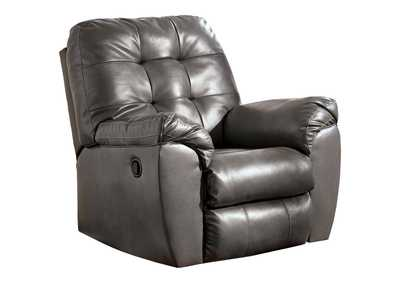 Image for Alliston DuraBlend Gray Rocker Recliner
