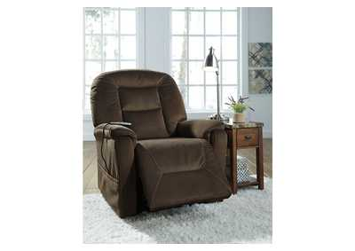 Samir Brown Power Lift Recliner,Direct To Consumer Express