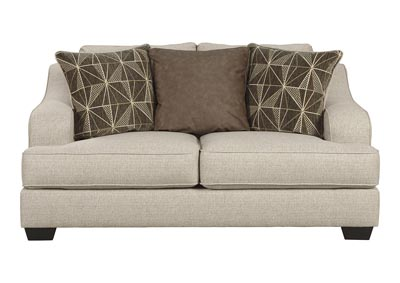 Marciana Bisque Loveseat