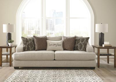 Marciana Bisque Sofa w/5 pillows,Benchcraft