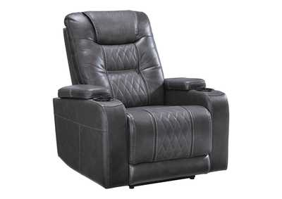 Composer Gray Power Recliner