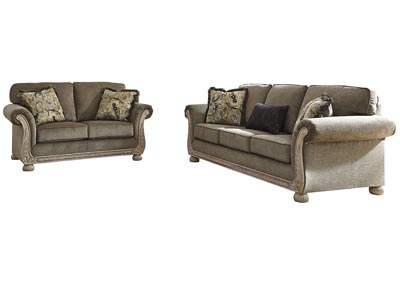 Richburg Coffee Sofa and Loveseat