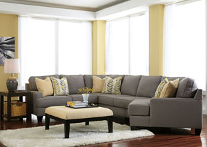 Chamberly Alloy Cuddler End Sectional