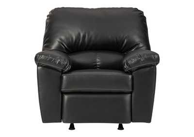 Image for Brazoria Black Recliner