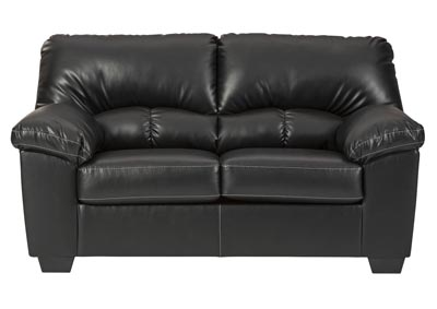 Brazoria Black Loveseat