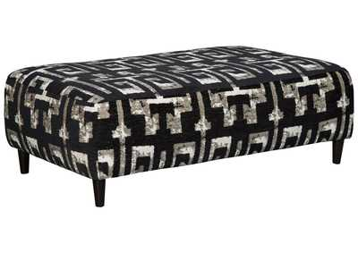 Image for Ravenstone Flint Oversized Accent Ottoman