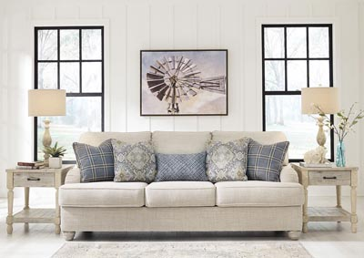 Traemore Linen Sofa,Signature Design By Ashley