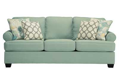 Image for Daystar Seafoam Queen Sofa Sleeper
