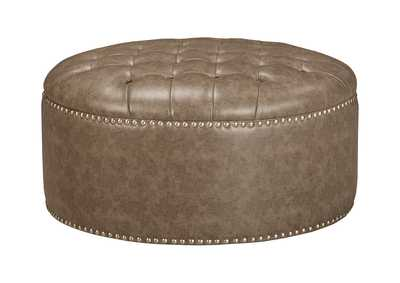 Wilcot Linen Oversized Accent Ottoman