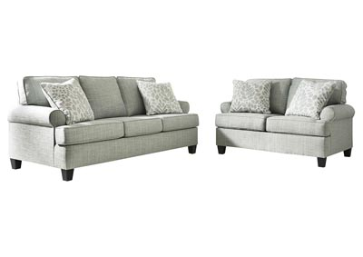 Kilarney Mist Sofa and Loveseat