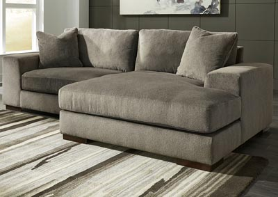 Manzani Graphite RAF Chaise Sectional