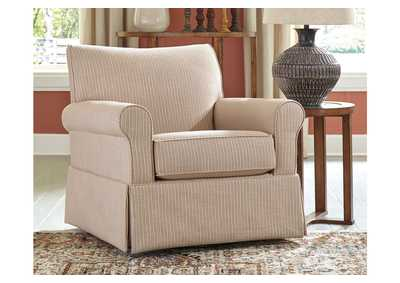 Image for Almanza Swivel Glider Accent Chair