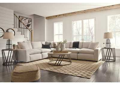 Image for Savesto Ivory 6 Piece Sectional