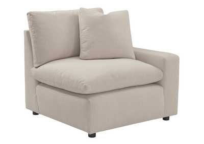 Image for Savesto Ivory RAF Corner Chair