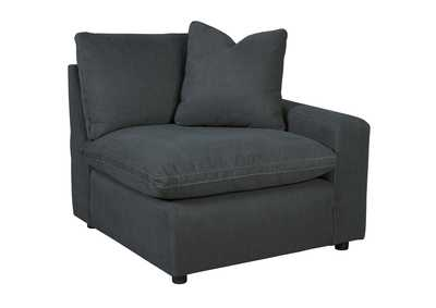 Image for Savesto Charcoal RAF Corner Chair