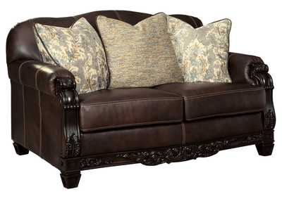 Embrook Chocolate Loveseat