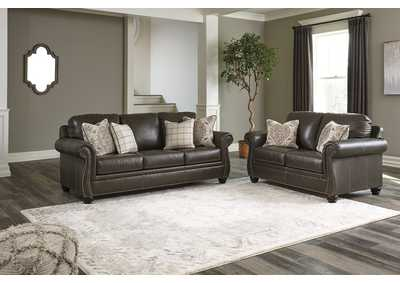 Lawthorn Slate Sofa and Loveseat