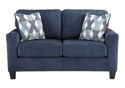 Burgos Navy Loveseat