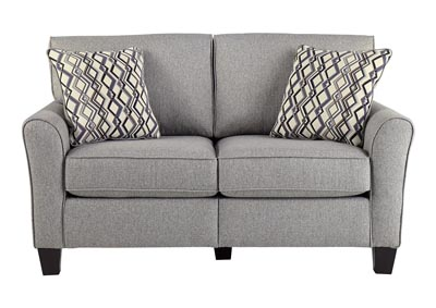 Strehela Silver Loveseat