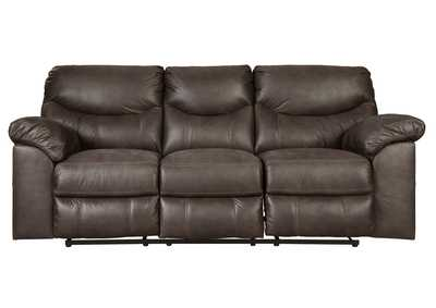 Boxberg Teak Reclining Power Sofa