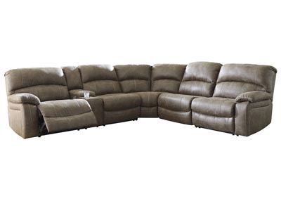 Image for Segburg Driftwood Sectional w/Console