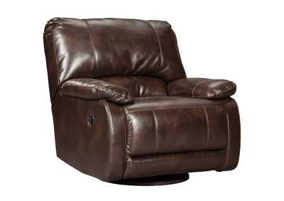 Hallettsville Saddle Swivel Glider Recliner
