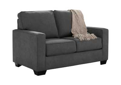 Image for Zeb Charcoal Twin Sofa Sleeper