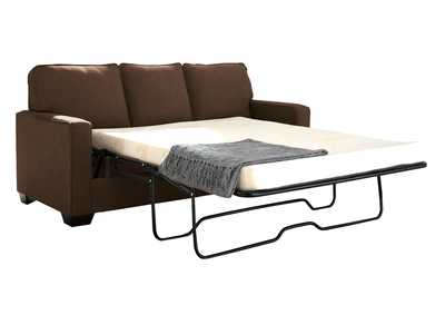 Zeb Espresso Full Sofa Sleeper