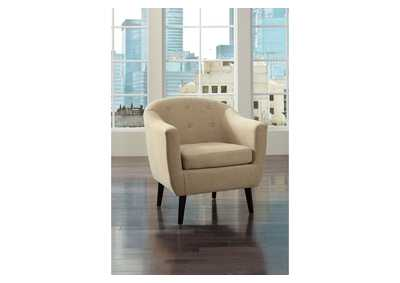 Klorey Khaki Accent Chair